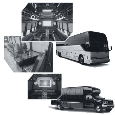 Party Bus rental and Limobus rental in Seattle, WA