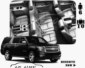 SUV Suburban for hire in Seattle