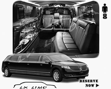 Stretch Wedding Limo for hire in Seattle, ON, Canada