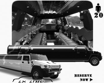Seattle hummer H2 SUV Limousine rental